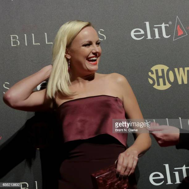 Actress Malin Akerman attends Showtime's 'Billions' Season 2 premiere held at Cipriani 25 Broadway on February 13 2017 in New York City