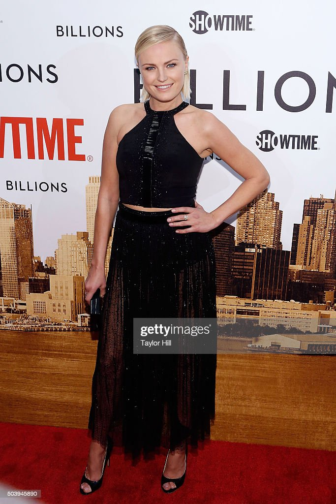Actress Malin Akerman attends Showtime's 'Billions' series premiere at Museum of Modern Art on January 7 2016 in New York City