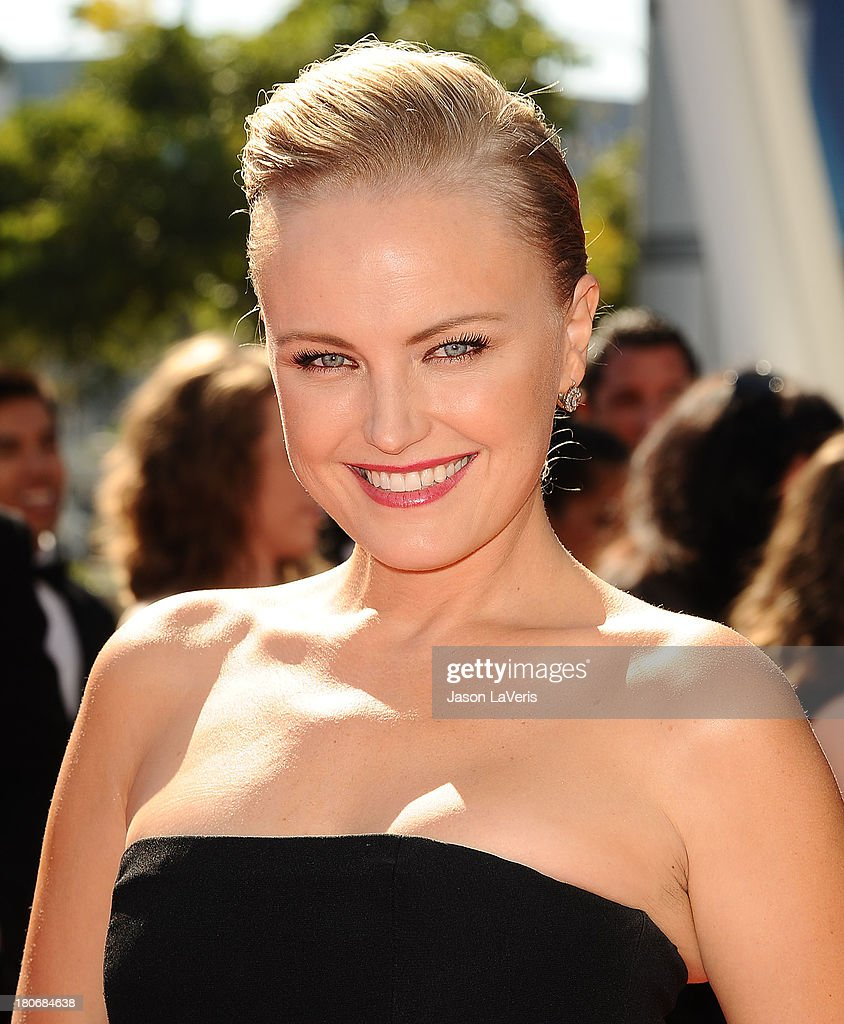 Actress <a gi-track='captionPersonalityLinkClicked' href=/galleries/search?phrase=Malin+Akerman&family=editorial&specificpeople=598245 ng-click='$event.stopPropagation()'>Malin Akerman</a> attends the 2013 Creative Arts Emmy Awards at Nokia Theatre L.A. Live on September 15, 2013 in Los Angeles, California.