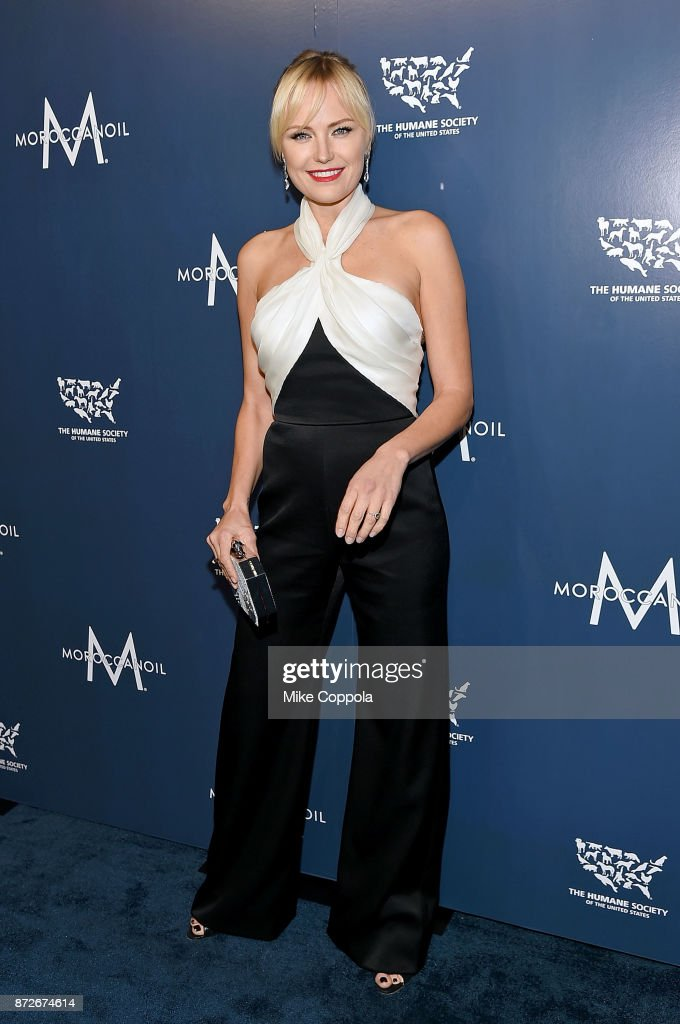Actress Malin Akerman attends the 2017 Humane Society of the United States to the Rescue! New York Gala at Cipriani 42nd Street on November 10, 2017 in New York City.