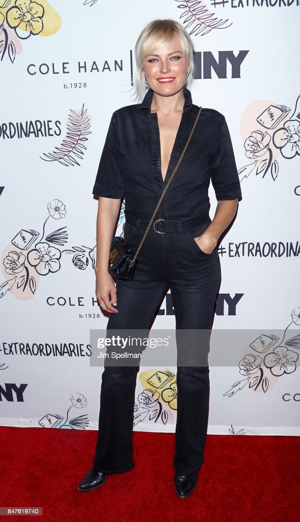 Actress Malin Akerman attends The 2nd Anniversary Party for Lenny, in partnership with Cole Haan at The Jane Hotel on September 15, 2017 in New York City.