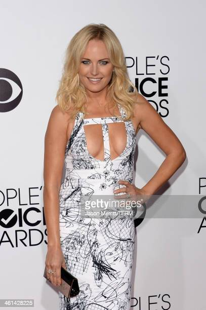 Actress Malin Akerman attends The 40th Annual People's Choice Awards at Nokia Theatre LA Live on January 8 2014 in Los Angeles California