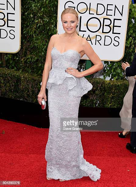 Actress Malin Akerman attends the 73rd Annual Golden Globe Awards held at the Beverly Hilton Hotel on January 10 2016 in Beverly Hills California