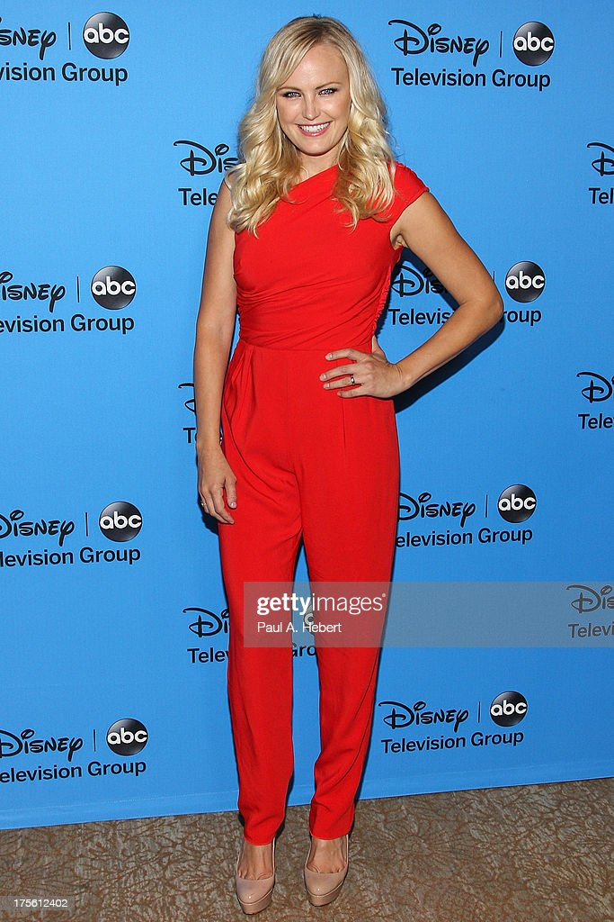 Actress Malin Akerman attends the Disney ABC Television Group's '2013 Summer TCA Tour' at The Beverly Hilton Hotel on August 4 2013 in Beverly Hills...