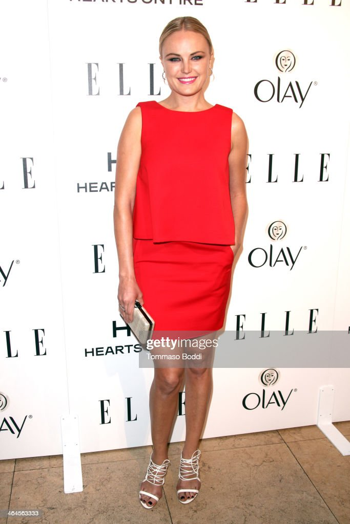 Actress <a gi-track='captionPersonalityLinkClicked' href=/galleries/search?phrase=Malin+Akerman&family=editorial&specificpeople=598245 ng-click='$event.stopPropagation()'>Malin Akerman</a> attends the ELLE Women In Television Celebration held at the Sunset Tower on January 22, 2014 in West Hollywood, California.