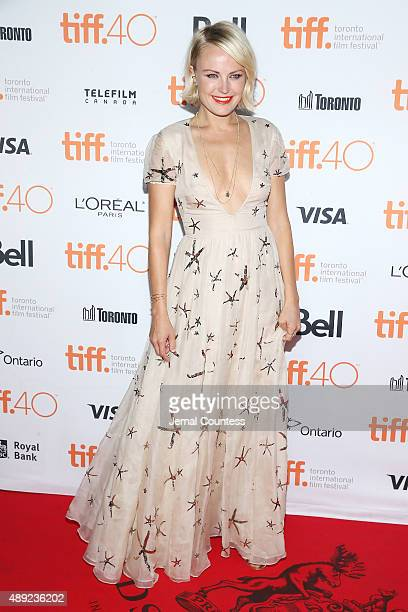 Actress Malin Akerman attends the 'Final Girls' photo call during the 2015 Toronto International Film Festival at the Ryerson Theatre on September 19...
