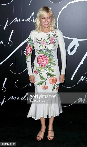 Actress Malin Akerman attends the 'mother' New York premiere at Radio City Music Hall on September 13 2017 in New York City