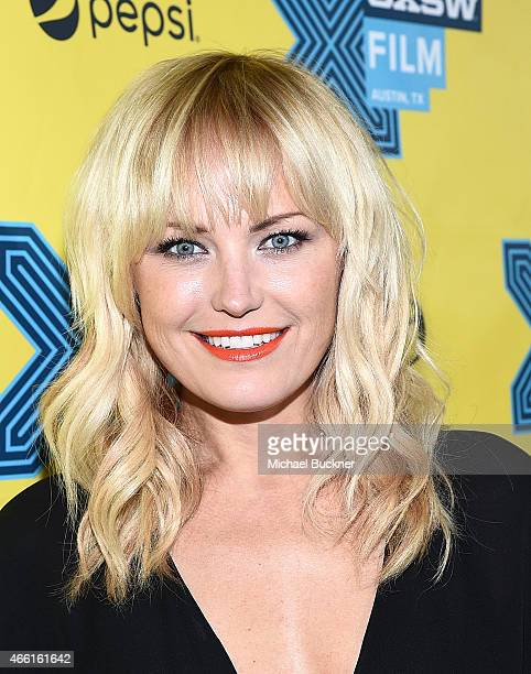 Actress Malin Akerman attends the premiere of 'The Final Girls' during the 2015 SXSW Music Film Interactive Festival at The Paramount Theater on...