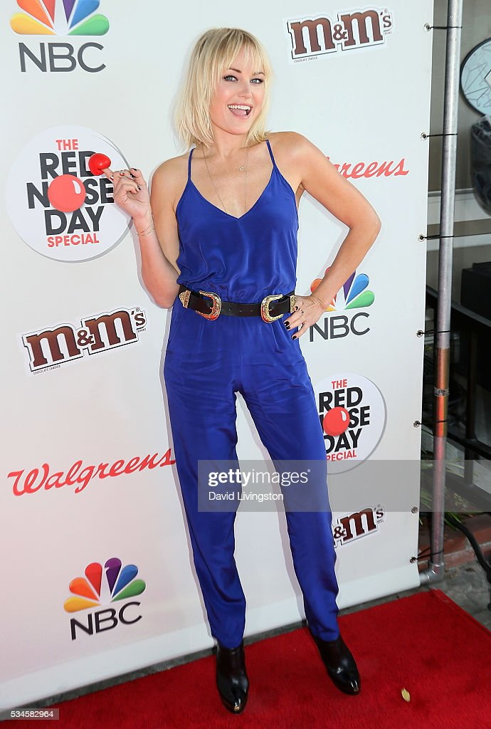 Actress <a gi-track='captionPersonalityLinkClicked' href=/galleries/search?phrase=Malin+Akerman&family=editorial&specificpeople=598245 ng-click='$event.stopPropagation()'>Malin Akerman</a> attends the Red Nose Day Special on NBC at the Alfred Hitchcock Theater at Alfred Hitchcock Theater at Universal Studios on May 26, 2016 in Universal City, California.