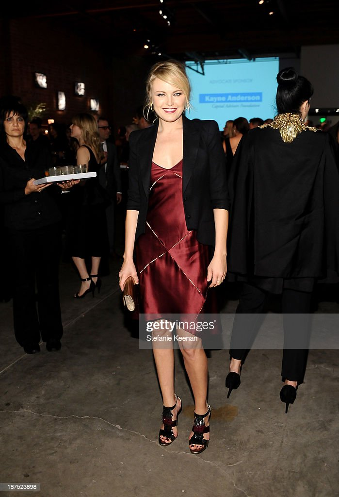 Actress <a gi-track='captionPersonalityLinkClicked' href=/galleries/search?phrase=Malin+Akerman&family=editorial&specificpeople=598245 ng-click='$event.stopPropagation()'>Malin Akerman</a> attends the second annual Baby2Baby Gala, honoring Drew Barrymore, at Book Bindery on November 9, 2013 in Culver City, California.