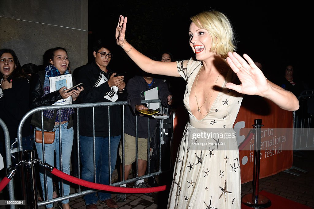 Actress Malin Akerman attends the 'The Final Girls' premiere during the Toronto International Film Festival at Ryerson Theatre on September 19 2015...