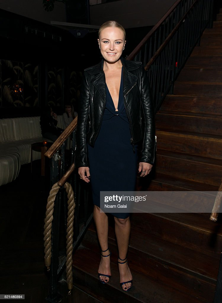 Actress Malin Akerman attends the 'Wolves' after party during 2016 Tribeca Film Festival at No. 8 on April 15, 2016 in New York City.
