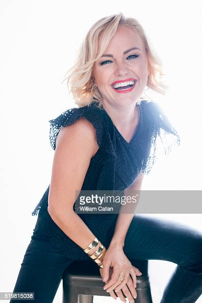Actress Malin Akerman is photographed for The Wrap on March 28 2016 in Los Angeles California