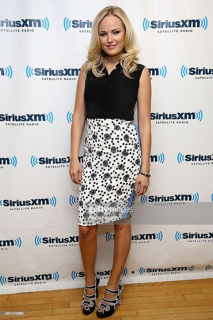 Actress Malin Akerman visits the SiriusXM Studios on September 24, 2013 in New York City.