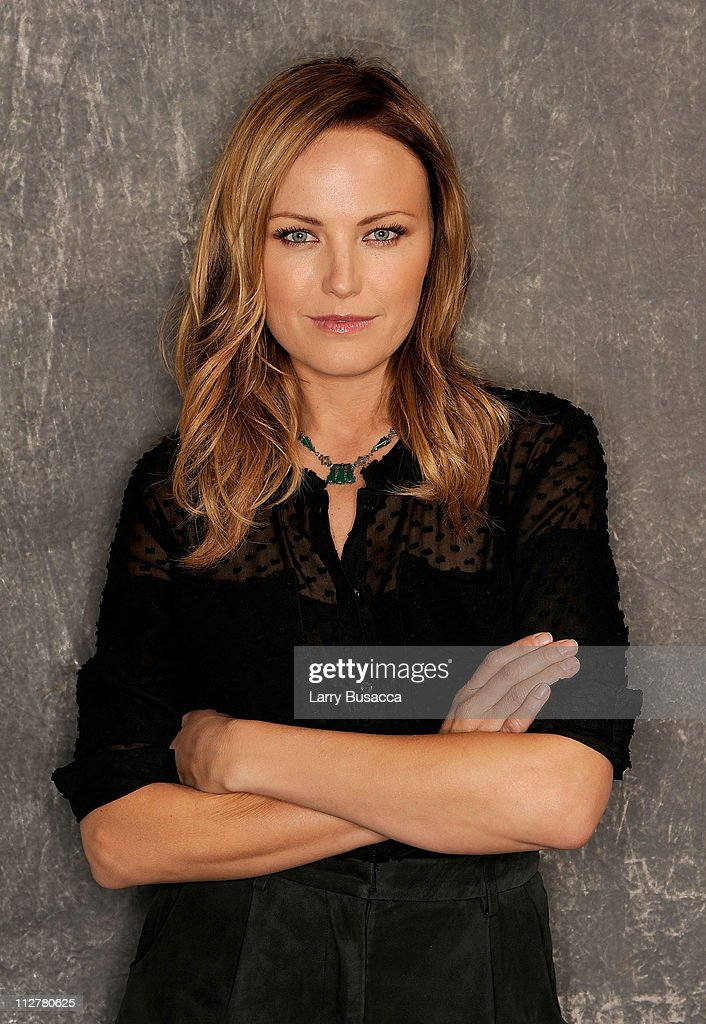 Actress <a gi-track='captionPersonalityLinkClicked' href=/galleries/search?phrase=Malin+Akerman&family=editorial&specificpeople=598245 ng-click='$event.stopPropagation()'>Malin Akerman</a> visits the Tribeca Film Festival 2011 portrait studio on April 21, 2011 in New York City.