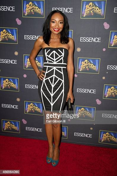Actress Malina Moye attends the Essence 'A Toast To Primetime' Event at Herringbone Mondrian LA on October 2 2014 in Beverly Hills California