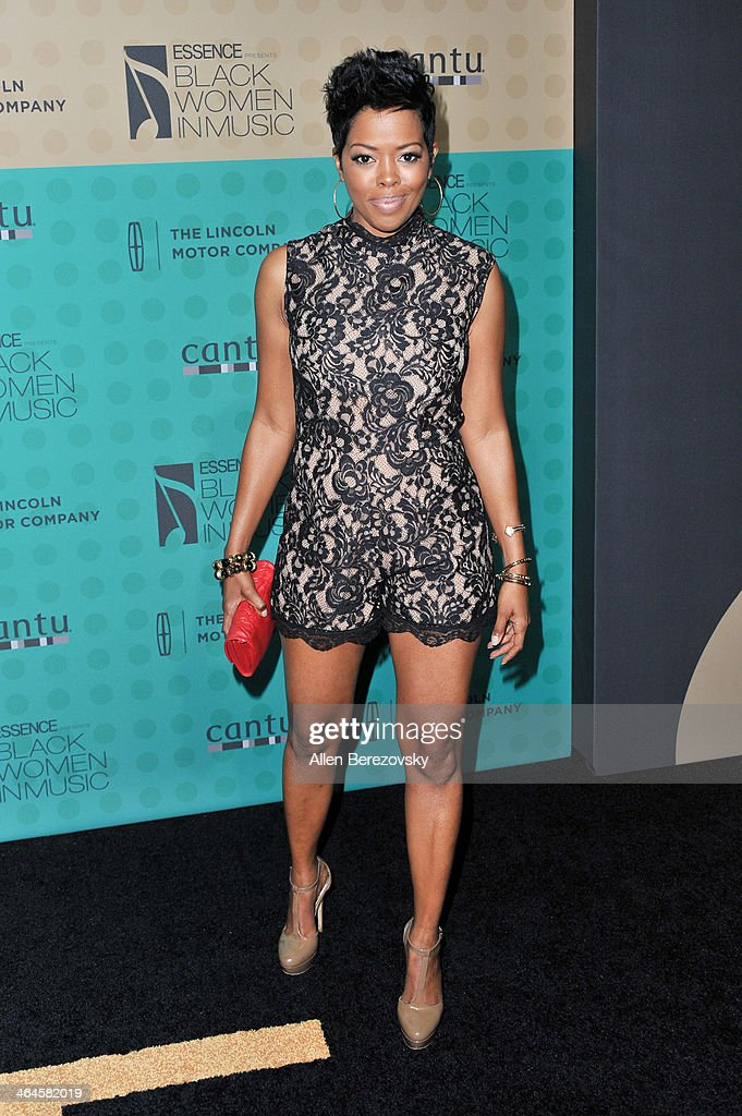 Actress <a gi-track='captionPersonalityLinkClicked' href=/galleries/search?phrase=Malinda+Williams&family=editorial&specificpeople=206346 ng-click='$event.stopPropagation()'>Malinda Williams</a> attends Essence Magazine's 5th Annual Black Women In Music Event at 1 OAK on January 22, 2014 in West Hollywood, California.