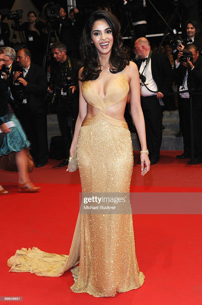 Actress Mallika Sherawat attends the 'Certified Copy' Premiere at the Palais des Festivals during the 63rd Annual Cannes Film Festival on May 18, 2010 in Cannes, France.