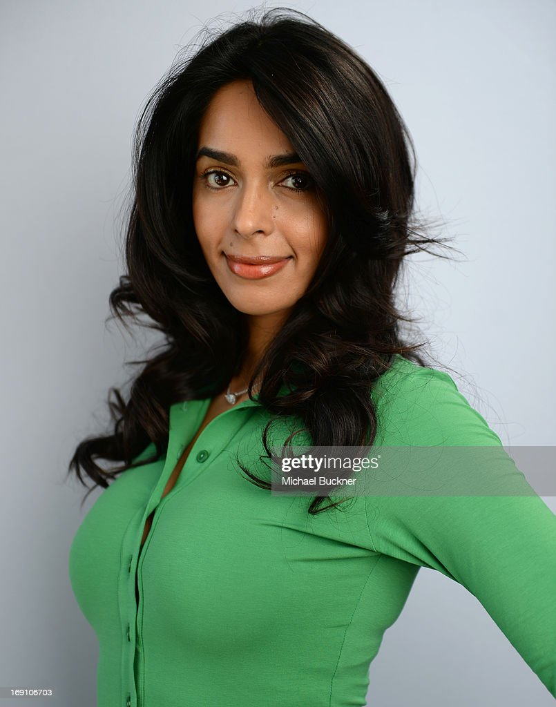 Actress Mallika Sherawat poses for a portrait at the Variety Studio at Chivas House on May 20, 2013 in Cannes, France.