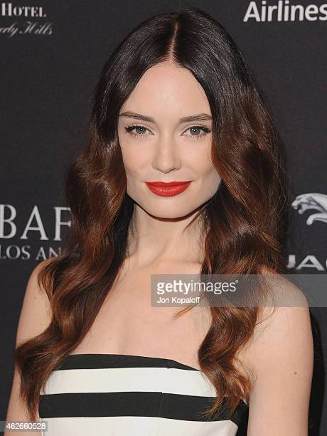Actress Mallory Jansen arrives at the 2015 BAFTA Tea Party at The Four Seasons Hotel on January 10 2015 in Beverly Hills California