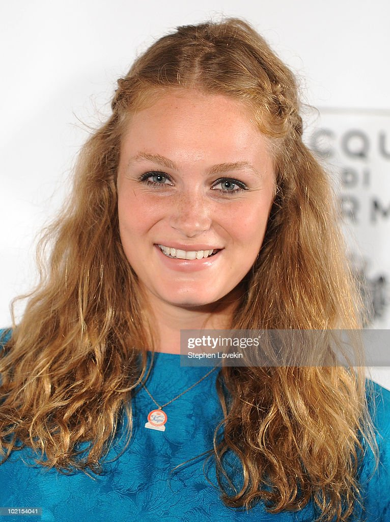 Actress Mallory June attends the premiere of 'I Am Love' at the School of Visual Arts Theater on June 16, 2010 in New York City.