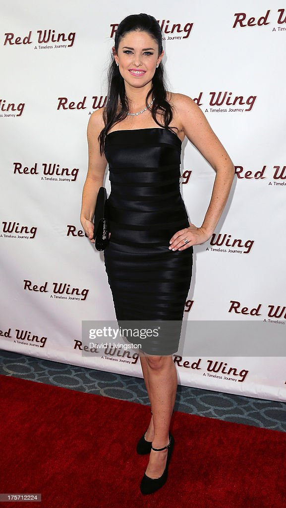 Actress Mallory O'Donoghue attends a screening of Integrity Film Production's 'Red Wing' at Harmony Gold Theatre on August 6, 2013 in Los Angeles, California.