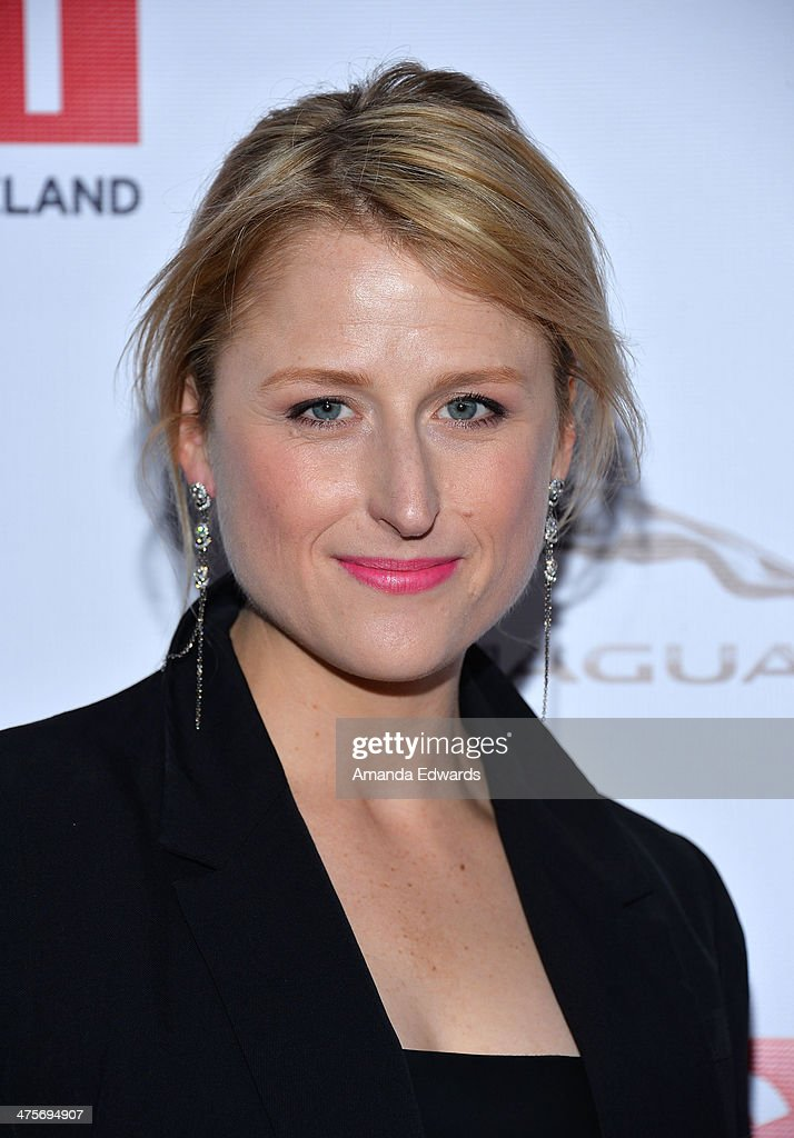 Actress <a gi-track='captionPersonalityLinkClicked' href=/galleries/search?phrase=Mamie+Gummer&family=editorial&specificpeople=805216 ng-click='$event.stopPropagation()'>Mamie Gummer</a> arrives at the GREAT British Film Reception honoring the British Nominees of The 86th Annual Academy Awards at British Consul General's Residence on February 28, 2014 in Los Angeles, California.