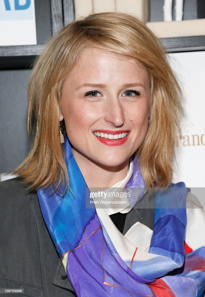 Actress Mamie Gummer attends 'The Lifeguard' after party on January 19, 2013 in Park City, Utah.