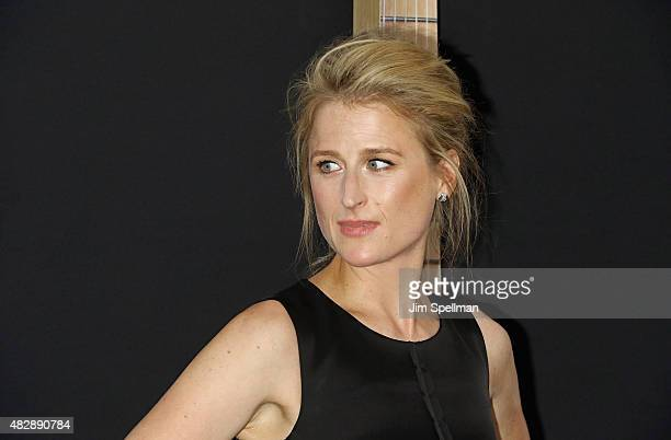 Actress Mamie Gummer attends the 'Ricki And The Flash' New York premiere at AMC Lincoln Square Theater on August 3 2015 in New York City