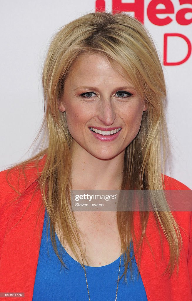 Actress Mamie Gummer poses in the press room at the iHeartRadio Music Festival at the MGM Grand Garden Arena September 21, 2012 in Las Vegas, Nevada.