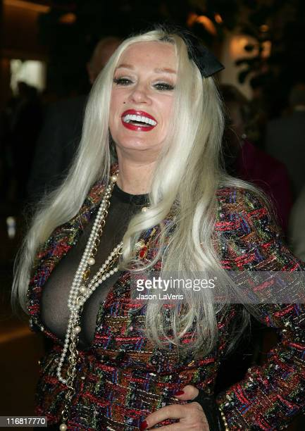 Actress Mamie Van Doren attends a tribute to Mary Tyler Moore at the Beverly Hilton Hotel on March 16 2008 in Beverly Hills California
