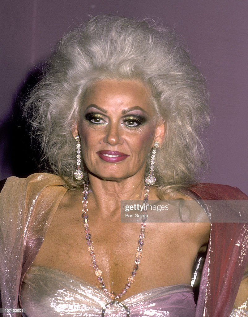 Actress Mamie Van Doren on August 2, 1984 parties at The Limelight in New York City.