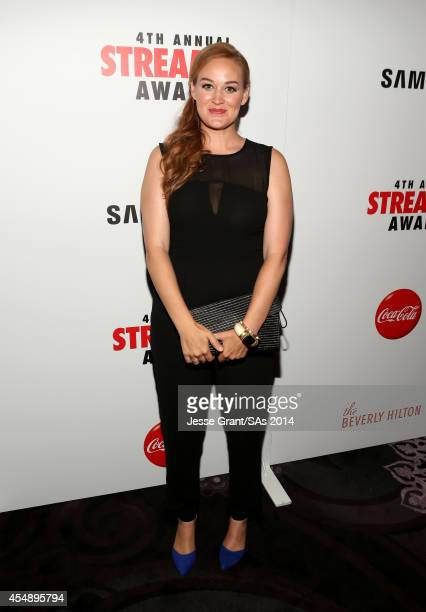 Actress Mamrie Hart attends the 4th Annual Streamy Awards presented by CocaCola on September 7 2014 in Beverly Hills California
