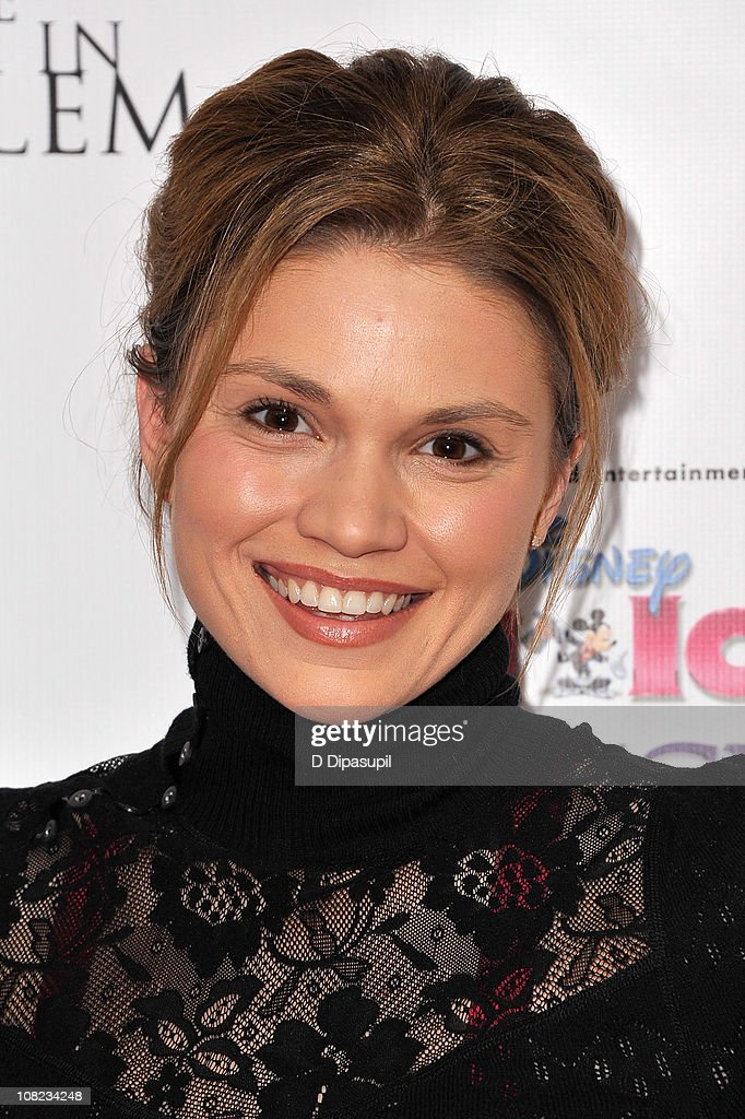 Actress Mandy Bruno attends Disney On Ice's 'Princess Wishes' opening night at Madison Square Garden on January 21, 2011 in New York City.