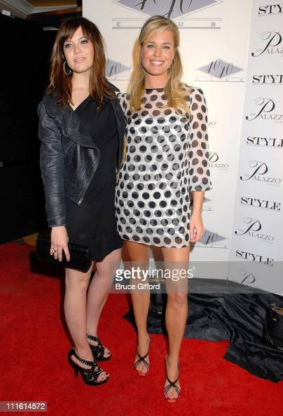 Actress Mandy Moore and Actress Rebecca Romjin arrive at The Palazzo Las Vegas Grand Opening on January 17 2008 in Las Vegas Nevada