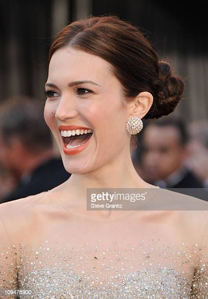 Actress Mandy Moore arrives at the 83rd Annual Academy Awards held at the Kodak Theatre on February 27 2011 in Hollywood California