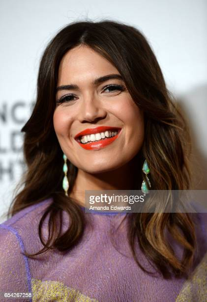Actress Mandy Moore arrives at the Alliance For Children's Rights 25th Anniversary Celebration at The Beverly Hilton Hotel on March 16 2017 in...