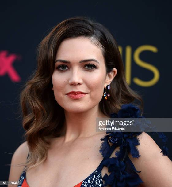 Actress Mandy Moore arrives at the premiere of NBC's 'This Is Us' Season 2 at NeueHouse Hollywood on September 26 2017 in Los Angeles California