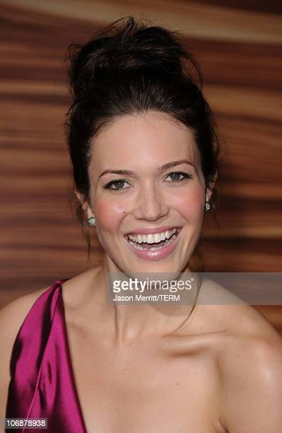 Actress Mandy Moore arrives at Walt Disney Pictures Presents the Premiere of 'Tangled' at the El Capitan Theatre on November 14 2010 in Los Angeles...