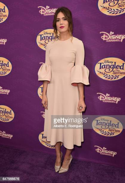 Actress Mandy Moore attends a screening of Disney Channel's 'Tangled Before Ever After' at The Paley Center for Media on March 4 2017 in Beverly...