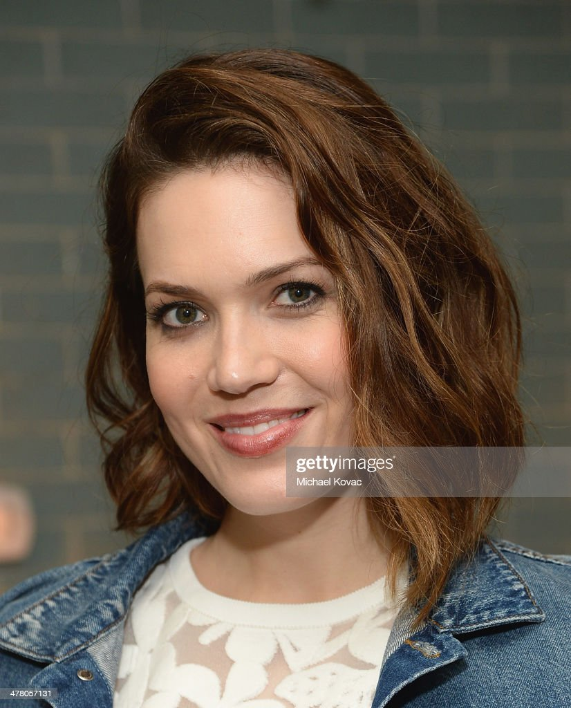 Actress <a gi-track='captionPersonalityLinkClicked' href=/galleries/search?phrase=Mandy+Moore+-+Singer+and+Actress&family=editorial&specificpeople=171637 ng-click='$event.stopPropagation()'>Mandy Moore</a> attends Anthropologie Celebrates A Denim Story by Emily Current, Meritt Elliott and Hilary Walsh at PaliHotel on March 11, 2014 in Los Angeles, California.
