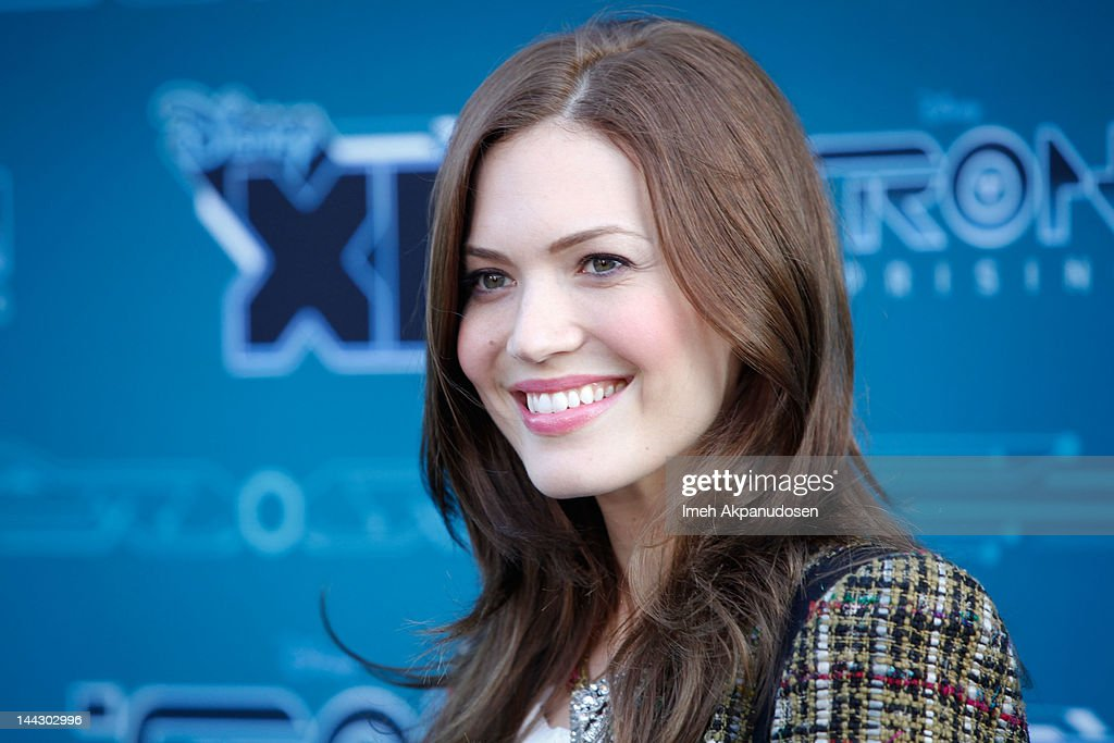 Actress <a gi-track='captionPersonalityLinkClicked' href=/galleries/search?phrase=Mandy+Moore+-+Singer+and+Actress&family=editorial&specificpeople=171637 ng-click='$event.stopPropagation()'>Mandy Moore</a> attends Disney XD's 'TRON: Uprising' Press Event And Reception at DisneyToon Studios on May 12, 2012 in Glendale, California.