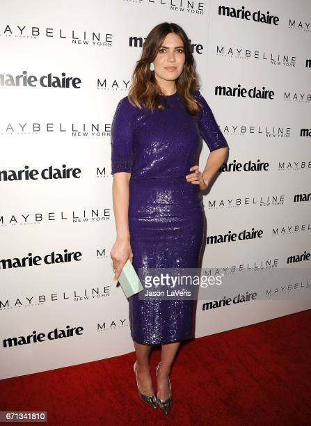 Actress Mandy Moore attends Marie Claire's Fresh Faces event at Doheny Room on April 21 2017 in West Hollywood California