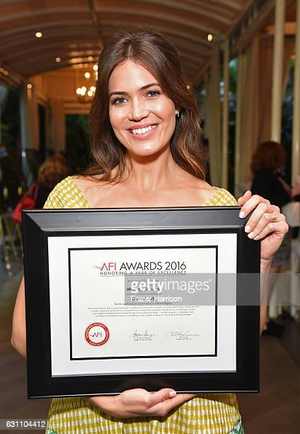 Actress Mandy Moore attends the 17th annual AFI Awards at Four Seasons Los Angeles at Beverly Hills on January 6 2017 in Los Angeles California