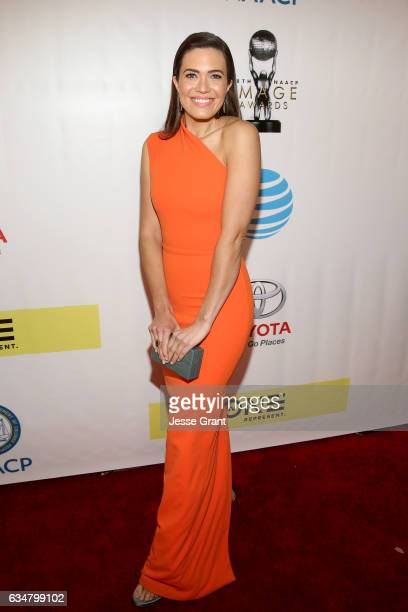 Actress Mandy Moore attends the 48th NAACP Image Awards at Pasadena Civic Auditorium on February 11 2017 in Pasadena California