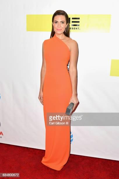 Actress Mandy Moore attends the 48th NAACP Image Awards at Pasadena Civic Auditorium on February 11 2017 in Pasadena California