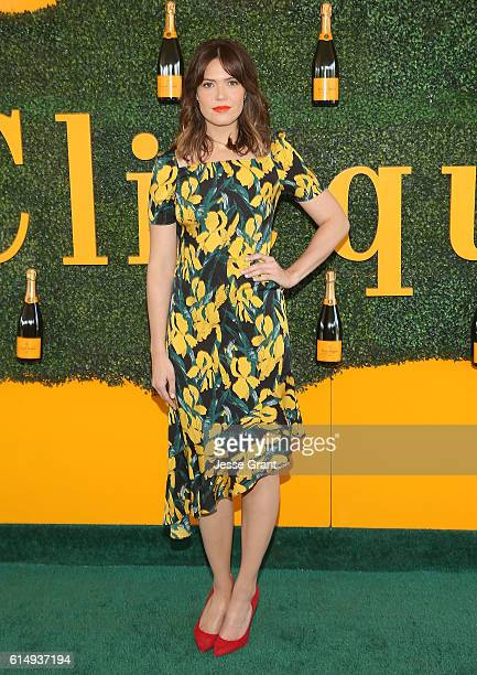 Actress Mandy Moore attends the 7th Annual Veuve Clicquot Polo Classic at Will Rogers State Historic Park on October 15 2016 in Pacific Palisades...