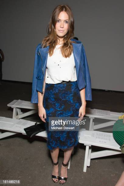 Actress Mandy Moore attends the Billy Reid show during Spring 2013 MercedesBenz Fashion Week at Eyebeam on September 7 2012 in New York City