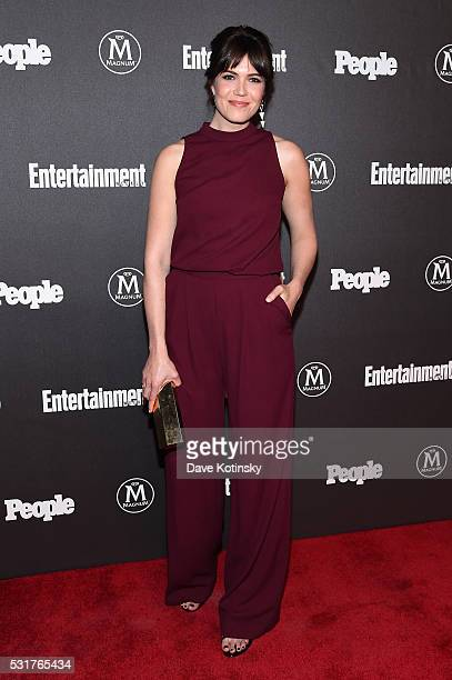 Actress Mandy Moore attends the Entertainment Weekly People Upfronts party 2016 at Cedar Lake on May 16 2016 in New York City