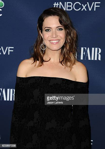 Actress Mandy Moore attends the NBC and Vanity Fair toast to the 20162017 TV season at NeueHouse Hollywood on November 2 2016 in Los Angeles...